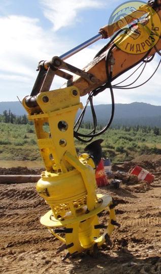 устройство PD для грунта и песка